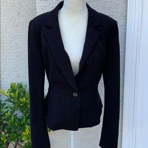 White House Black Market Black Blazer Size 8